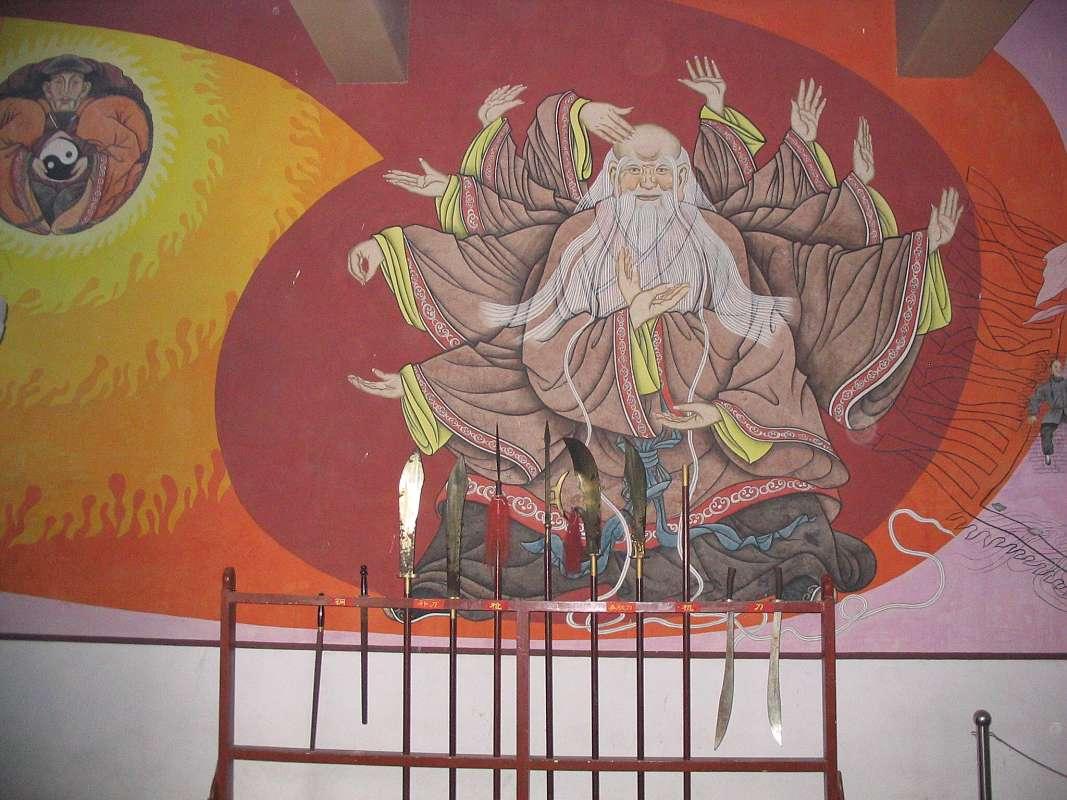 David Gaffney - Chen family temple image - Laozi and Chen Wangting