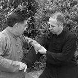 David Gaffney - trénink pák s GM Chen Xiaowangem