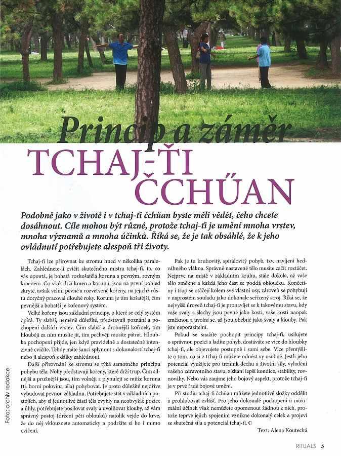 Rituals 9+10-2017 Princip a záměr taijiquan