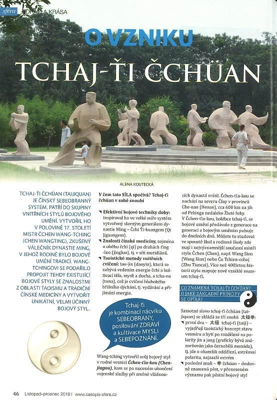 Sféra 10+11-2018 O vzniku tchaj-ťi čchuan 1